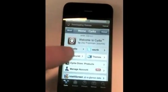 iOS 4.2.1 Untethered Jailbreak With Greenpois0n For iPhone Demo [Video]