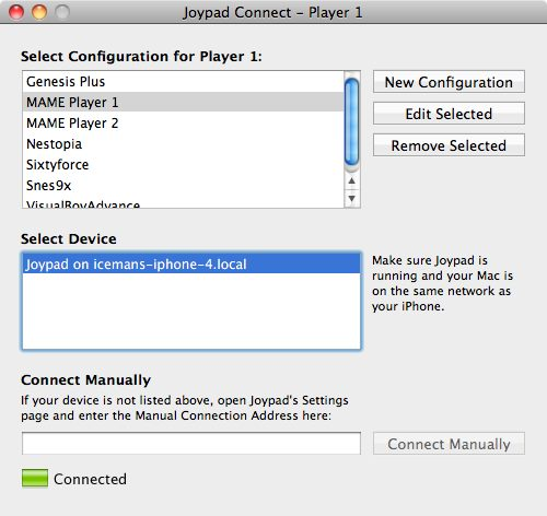 How To Use Your iPhone As JoyPad / Controller For Emulators [VIDEO]