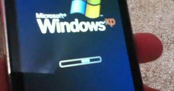 Windows XP on iPod Touch