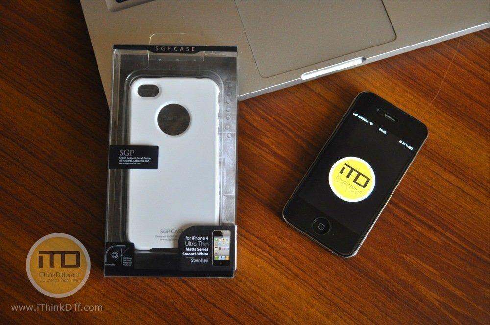 SGP iPhone 4 Case Ultra Thin Matte Series 1