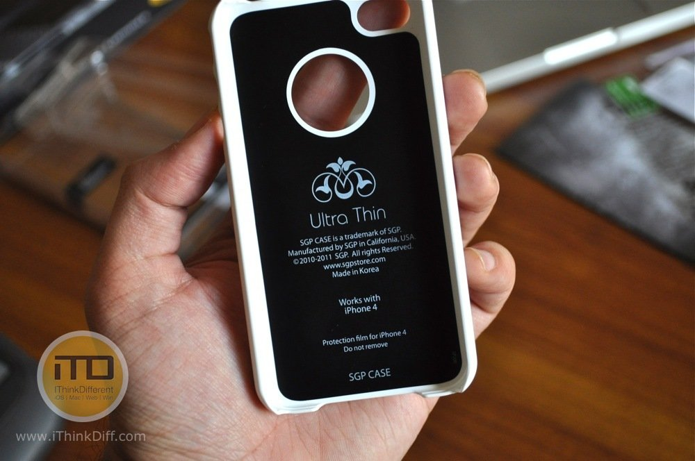 SGP iPhone 4 Case Ultra Thin Matte Series 6