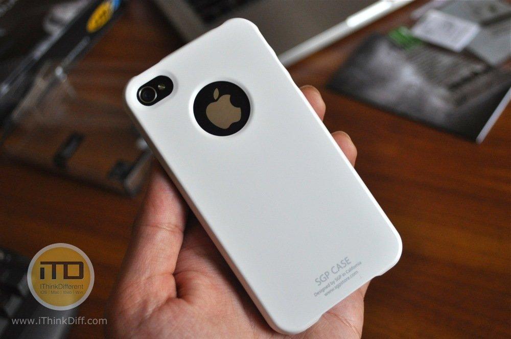 SGP iPhone 4 Case Ultra Thin Matte Series 8