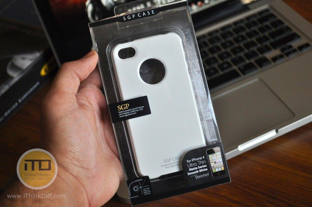 SGP iPhone 4 Case Ultra Thin Matte Series 2