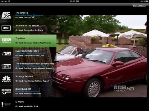 Watch Live Cable TV On iPad