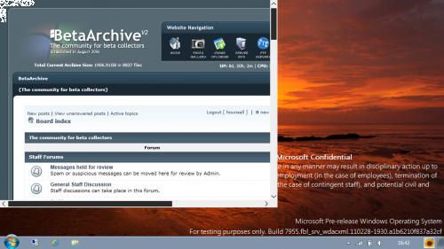 New Windows 8 Build 7955 leaked!