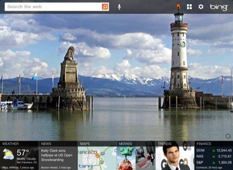 Microsoft Releases Bing App for iPad [Review]
