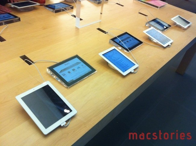 apple store 2.0 iPads