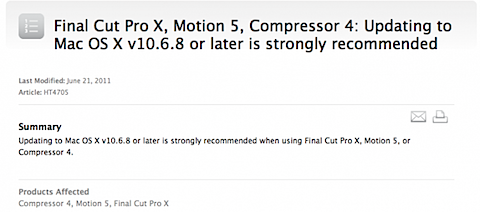 Mac OSX 10.6.8 Update Coming Very Soon!