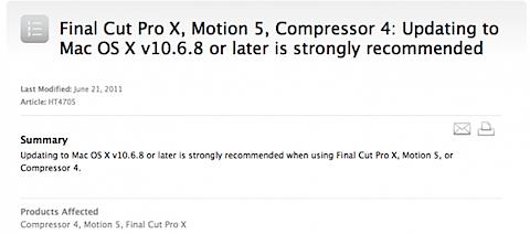 Mac OSX 10.6.8 Update Coming Very Soon!