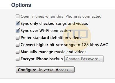 How to Sync iPhone Over WiFi With iTunes
