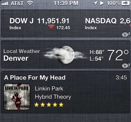 Notification Center in iOS 5 is getting some Developer Attention!