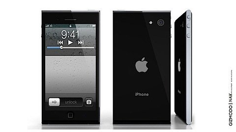 New Photos Posted for iPhone 5 - New Design Mockup