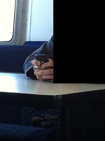 Apple Employee Using iPhone 5