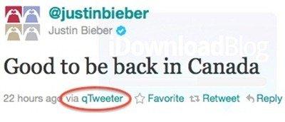 Justin Bieber Jailbroken iPhone