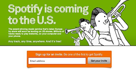 Spotify Music Service is coming to the US Soon!