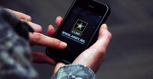 U.S. Army Testing iPhone, WP and Android