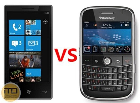 Windows Phone vs BlackBerry