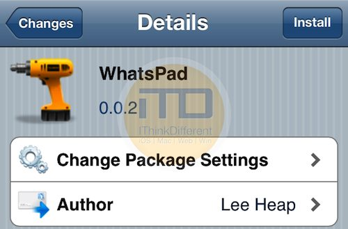 iTD WhatsApp for iPad