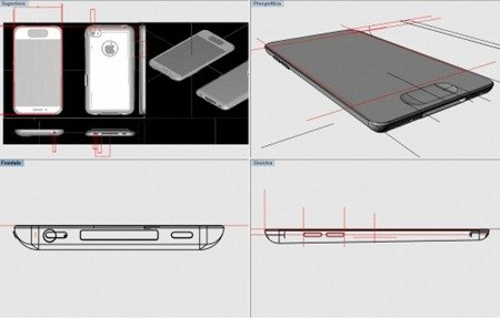 3D Rendering of iPhone 5