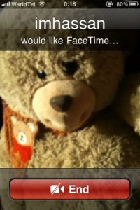 Fake FaceTime Call
