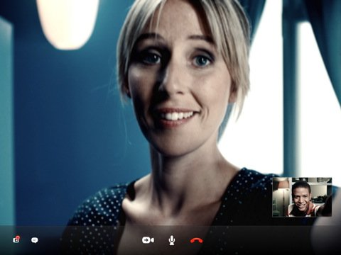 Skype Video Call On iPad