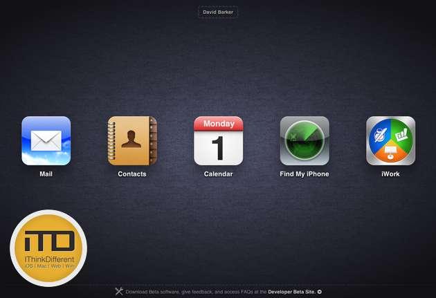 iCloud.com betawtmk