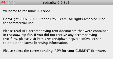 redsn0w iso5 beta5 jailbreak