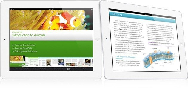 Apple iPad iBooks 2 textbooks