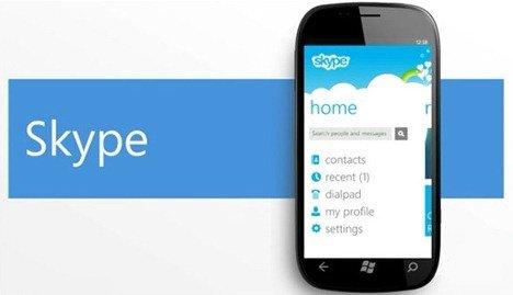 Skype App for Windows Phone