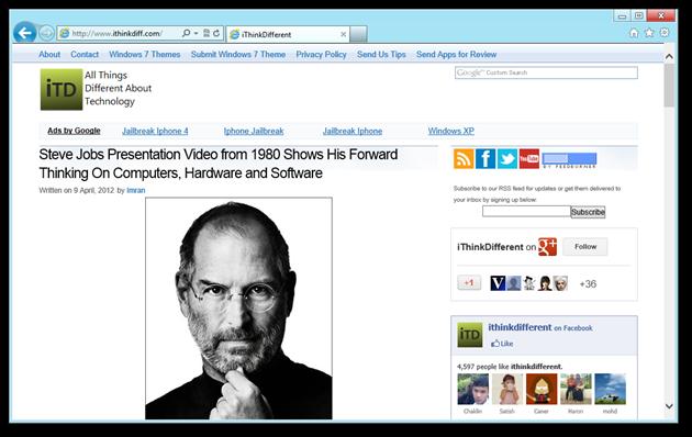 iThinkDifferent - Windows Internet Explorer