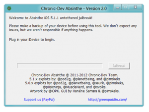 Jailbreak iOS 5.1.1 using Absinthe 2.0 on Almost All iOS Devices including iPhone 4s and iPad 3