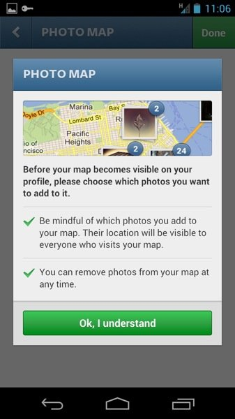 Instagram 3 0 Photo Map Permissions