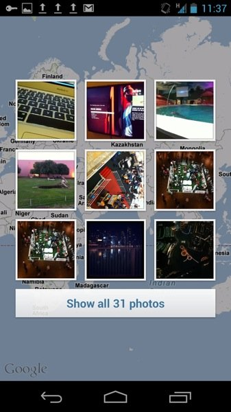 Instagram 3 0 Photo Map Thumbnails