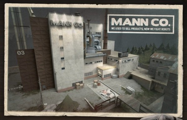 Team Fortress 2 Mann vs Machine Mannworks