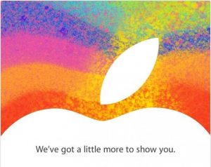 Apple Sends Invites For Event on October 23rd to Unveil iPad Mini