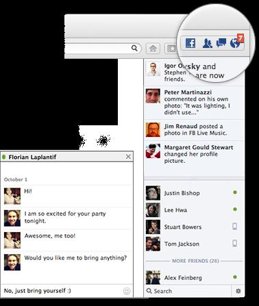 Firefox 17 Facebook