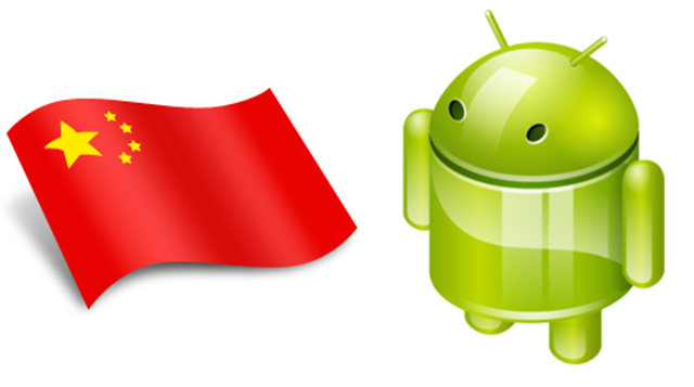 Android Market Share in China is 90.1%