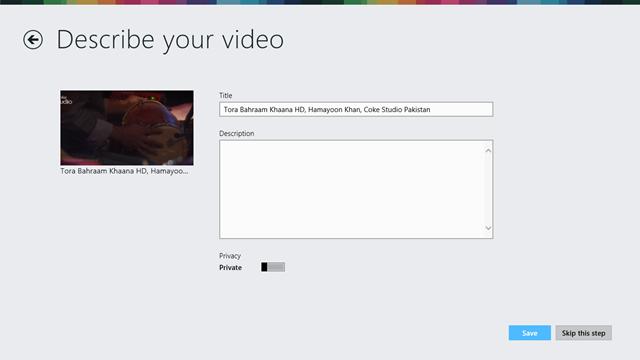 Vimeo App for Windows 8