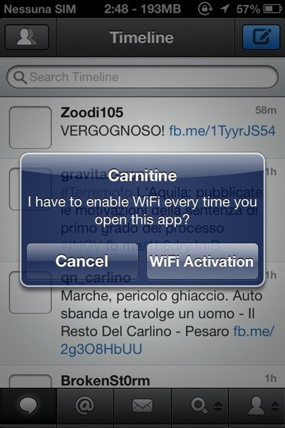 Carnitine for iPhone Cyda Tweak 2