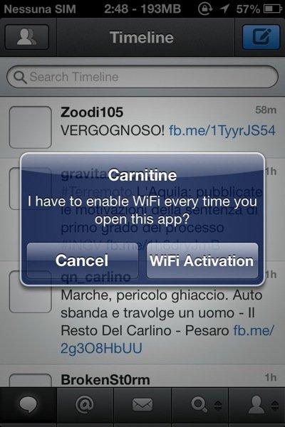 Carnitine for iPhone Cyda Tweak 2