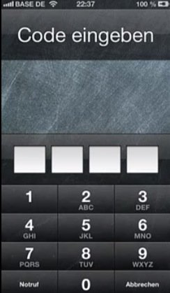 IOS 6 1 x Bug on iPhone Lets Users Bypass Lockscreen Passcode