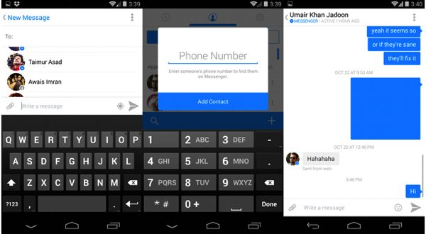 Facebook Launches New Redesigned Messenger App For Android 2