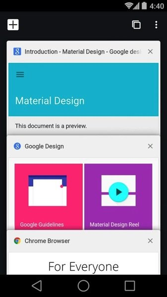 Google Chrome for Android Gets A Material Design Update 2