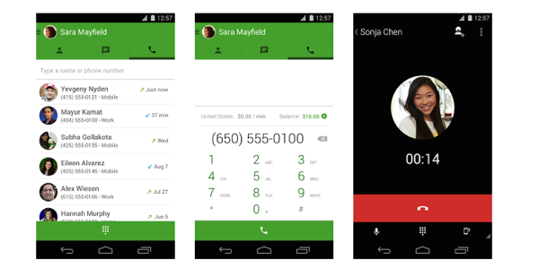 Google Introduces Free Voice Calls From Hangouts