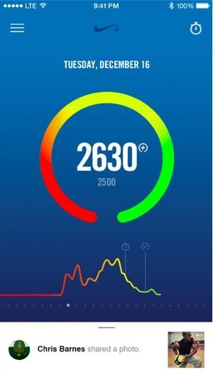 Nike+ Fuel iPhone App Updated To Work Without Fuelband