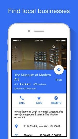 Google Maps for iOS Gets Events Business Look Up and Quick Facts Updates 1