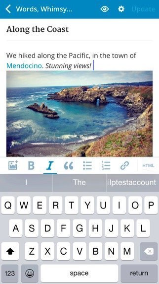 WordPress for iOS Gets An Awesome New Visual Editor