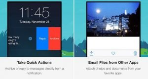 Gmail for iOS Updated With Quick Actions For Notifications and Share Sheet Support