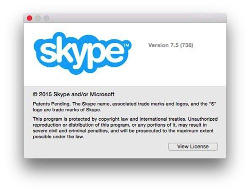 Skype Version 7.5 For Mac Released with Performance Improvements and Bug Fixes