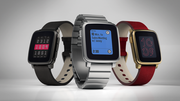 Steel Version of Pebble Time Announced – Looks Just Like Apple Watch
